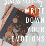 Want Quick Stress Relief – Write Down Your Emotions
