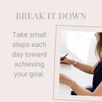 Break It Down: From Resolution to Daily Tasks