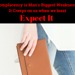 Complacency Is the Enemy of Productivity