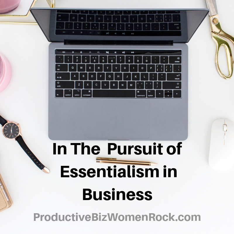 essentialism lifestyle