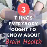 3 Things You Ought To Know About A Brain Health