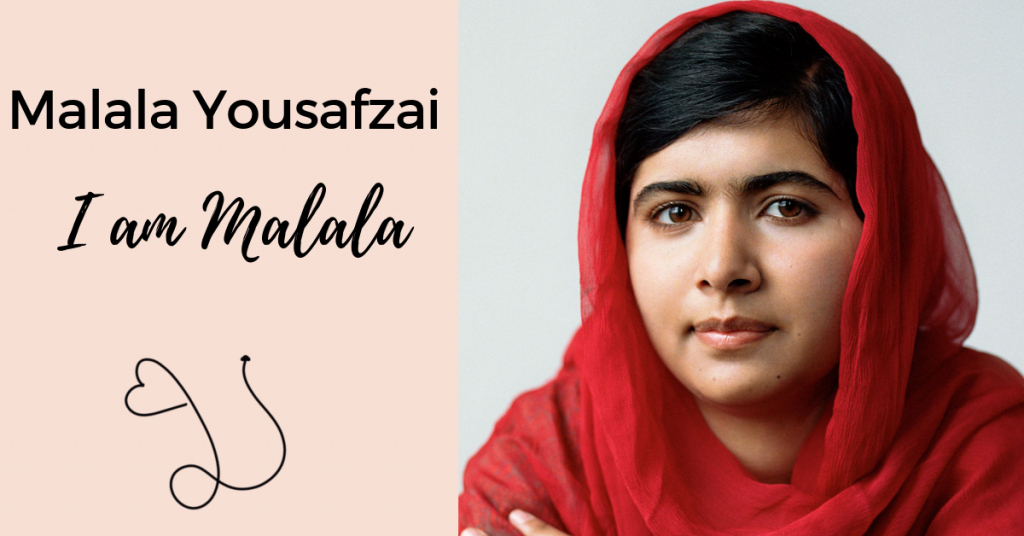Photo image of political activist Malala Yousafzai