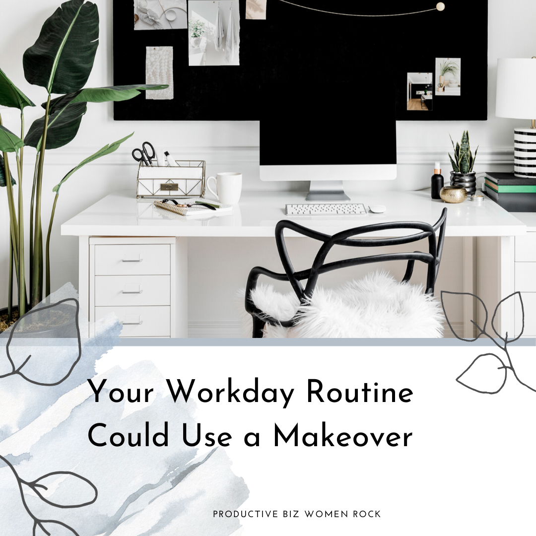 Daily routine for working moms